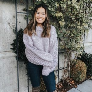 Chicwish lavender sweater